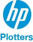 logo hp plotters